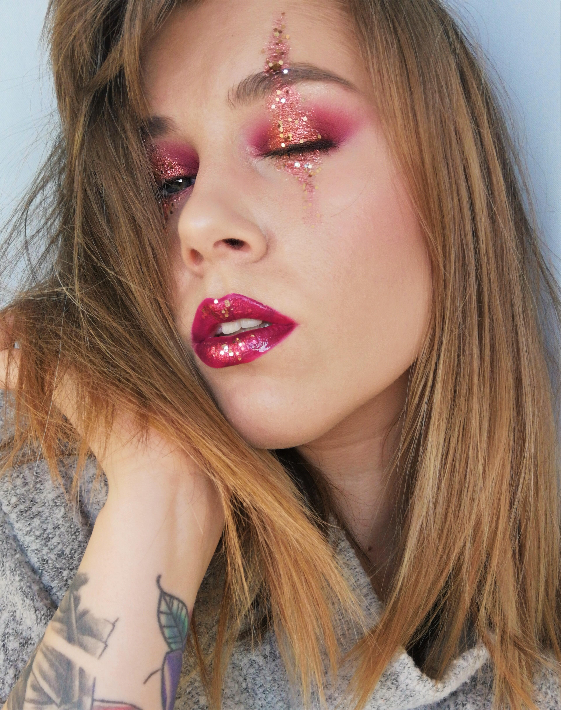 Tutoriaali: Pikkujoulumeikistä Halloween meikiksi