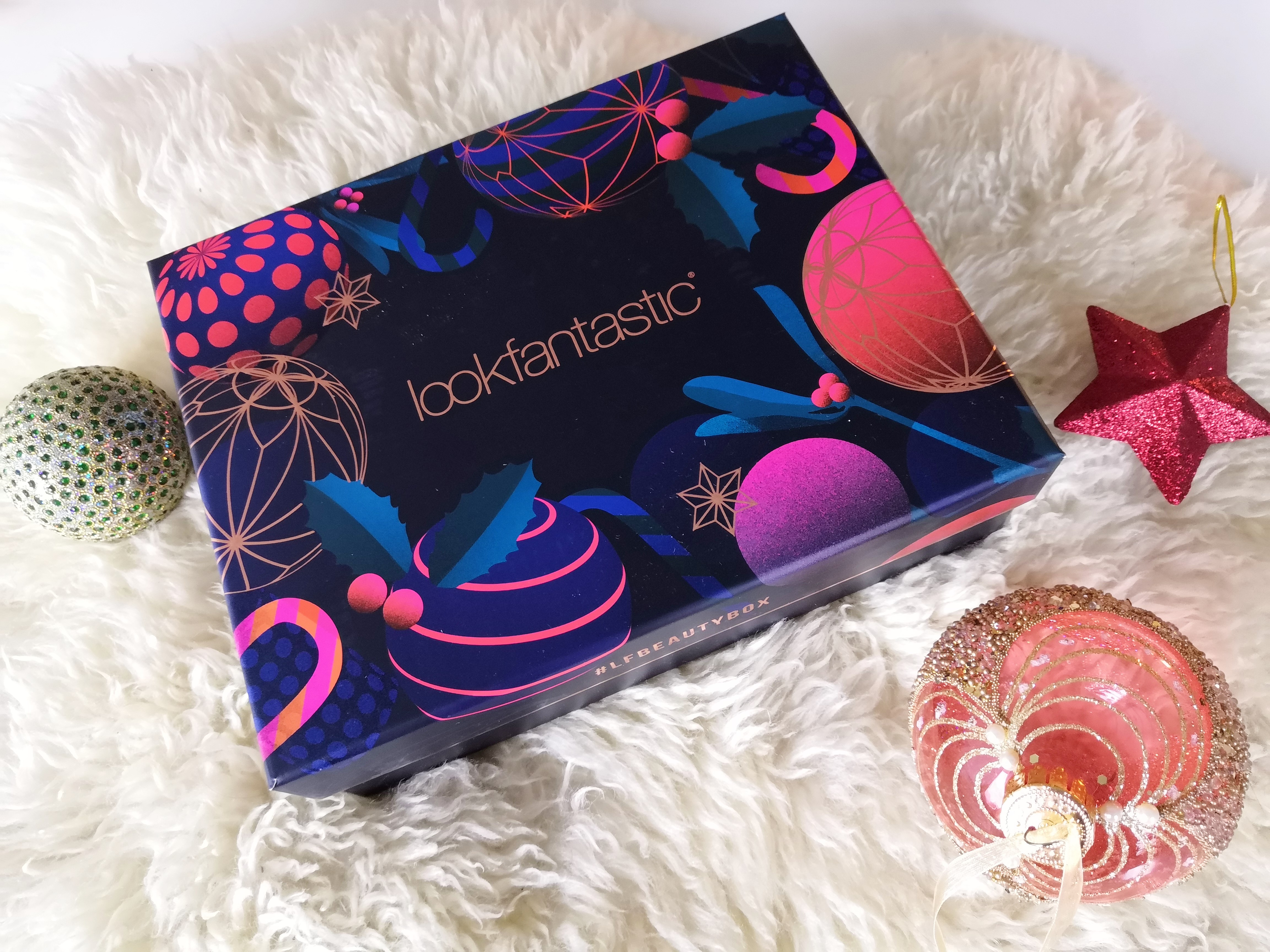 Lookfantastic beauty box Christmas edition
