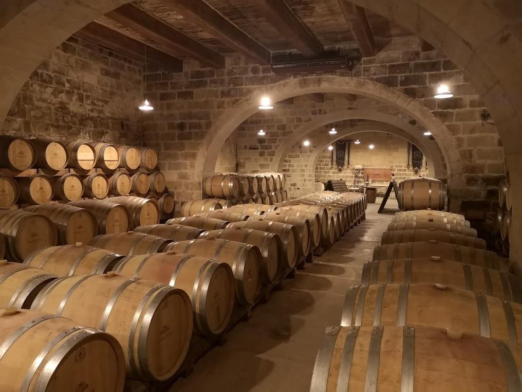 Marsovin viinikellari Maltalla