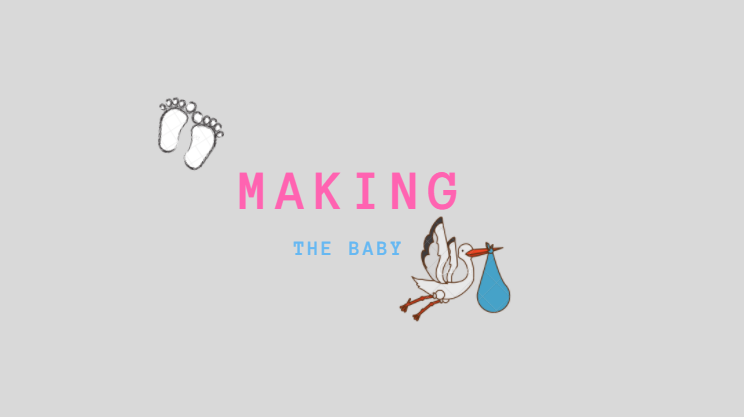 Making the baby