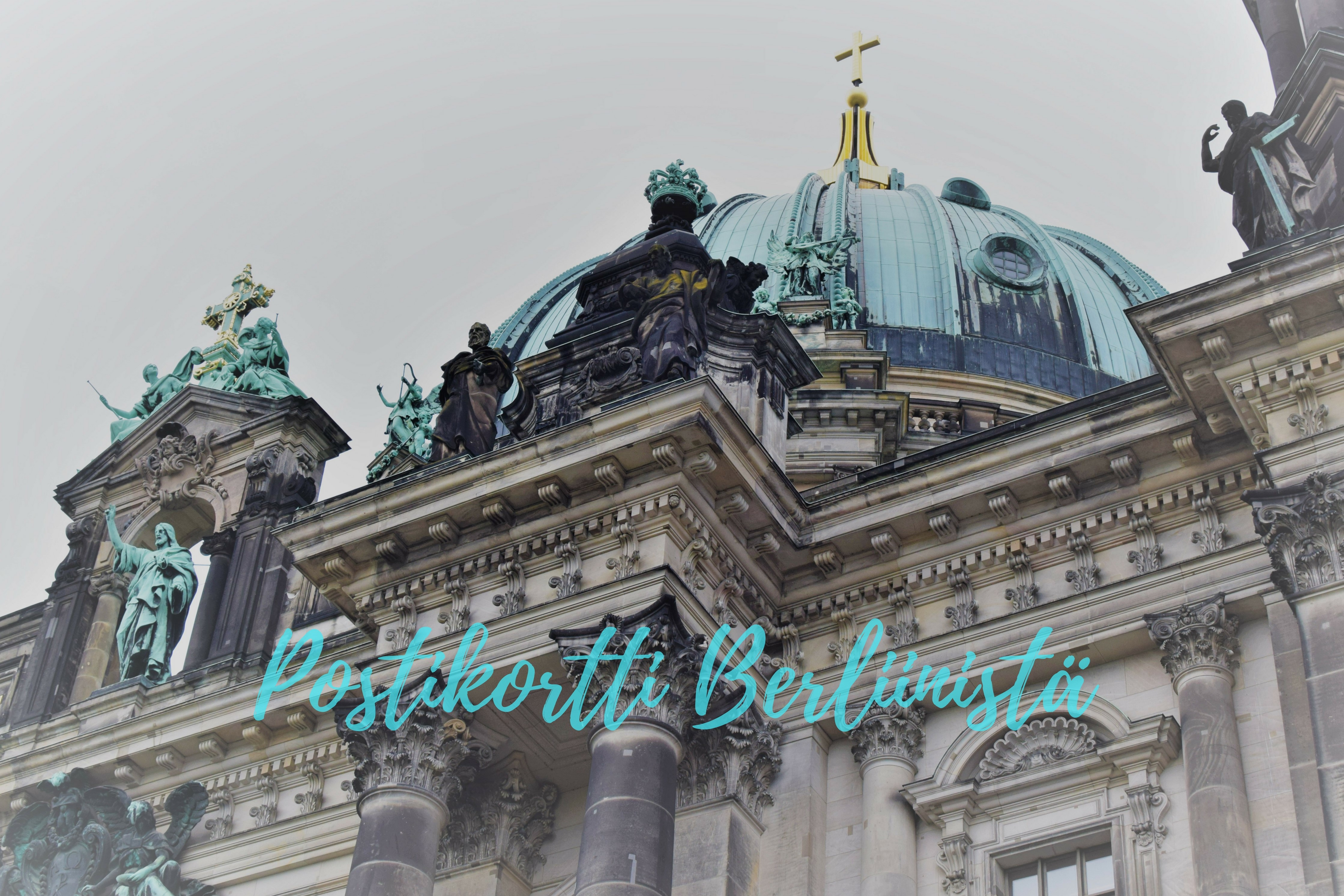 Postikortti Berliinistä
