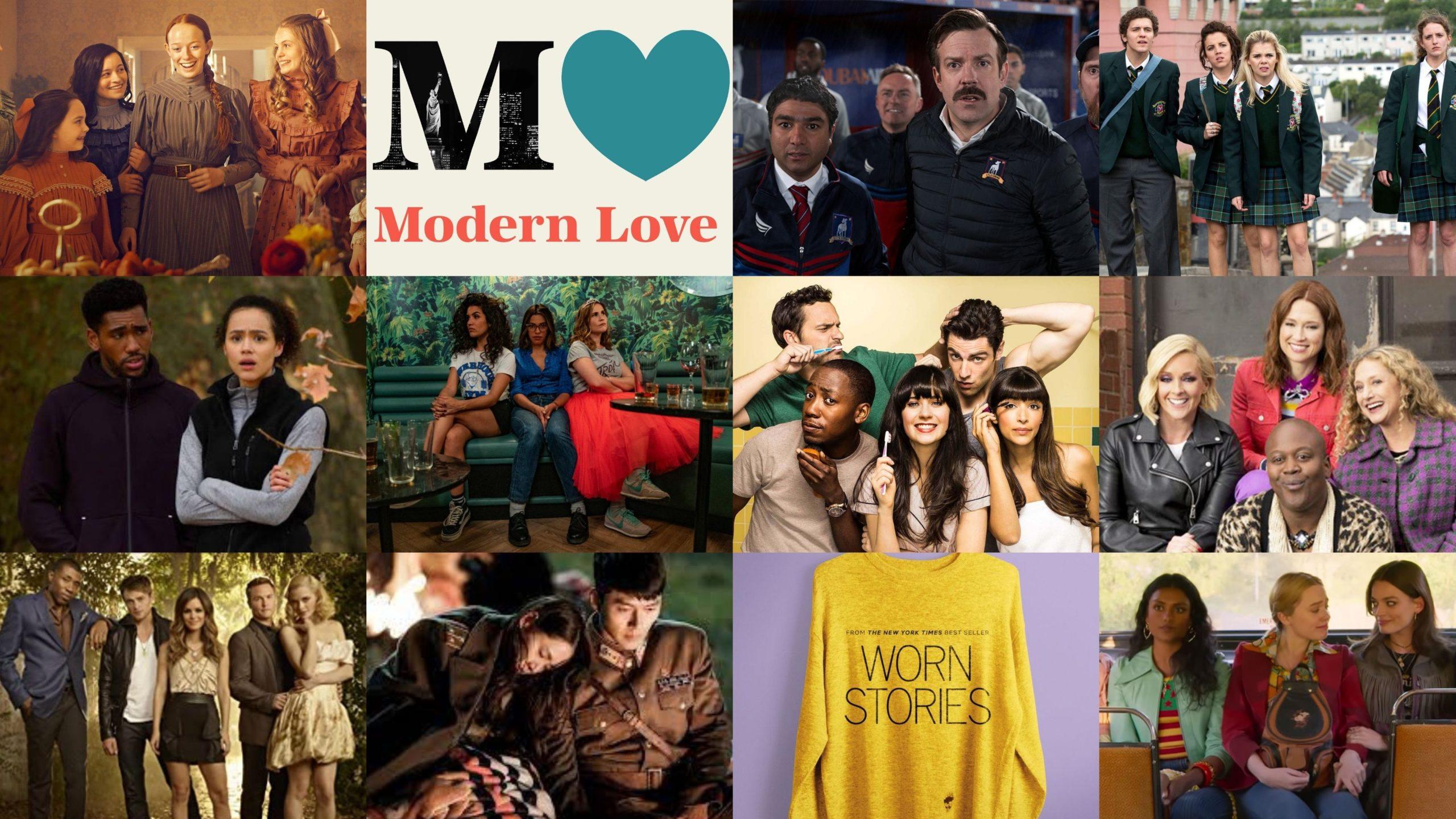 21 hyvän mielen sarjaa (eli iloa, rakkautta – ja rikoksia?)