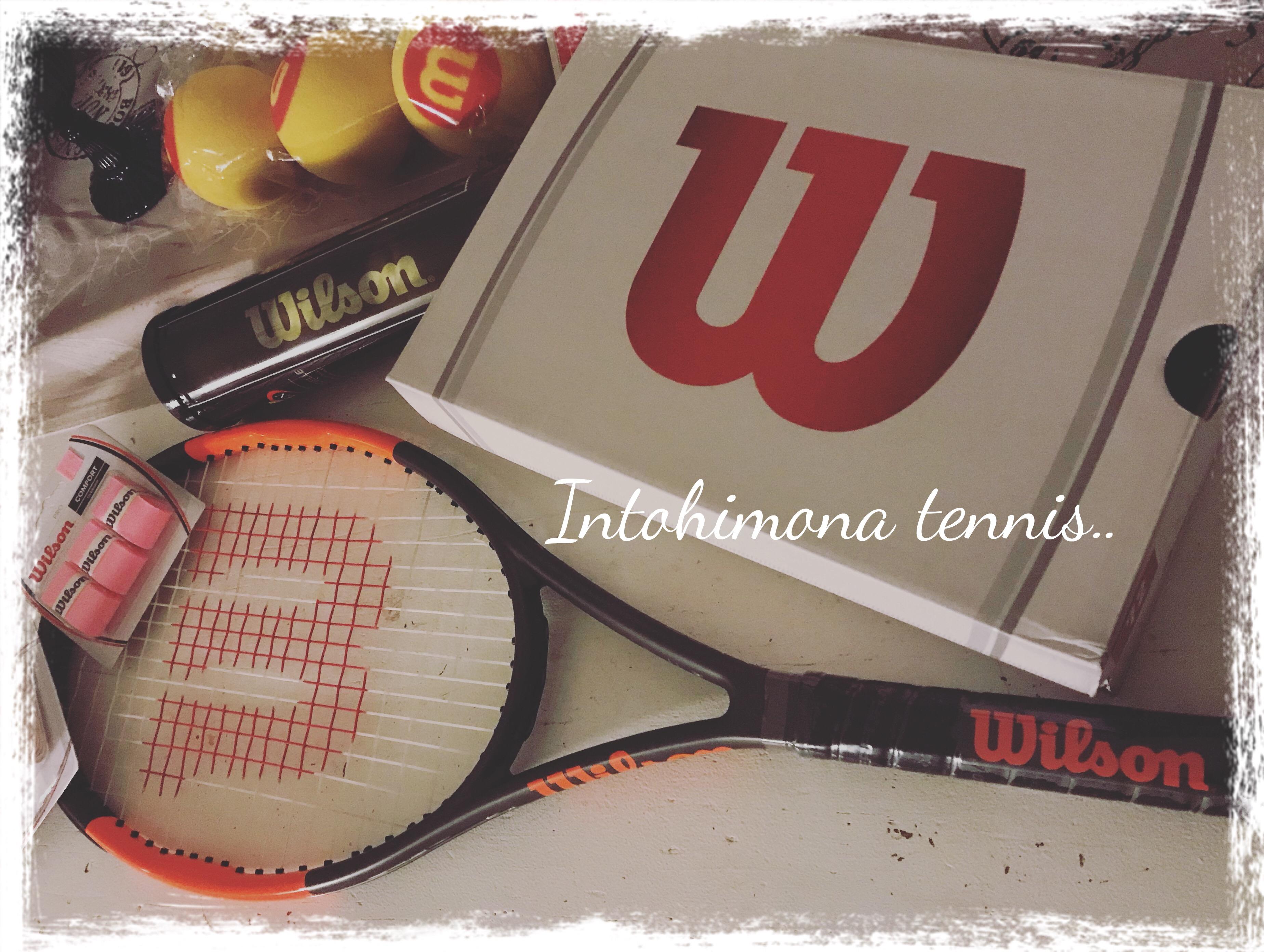 Intohimona tennis
