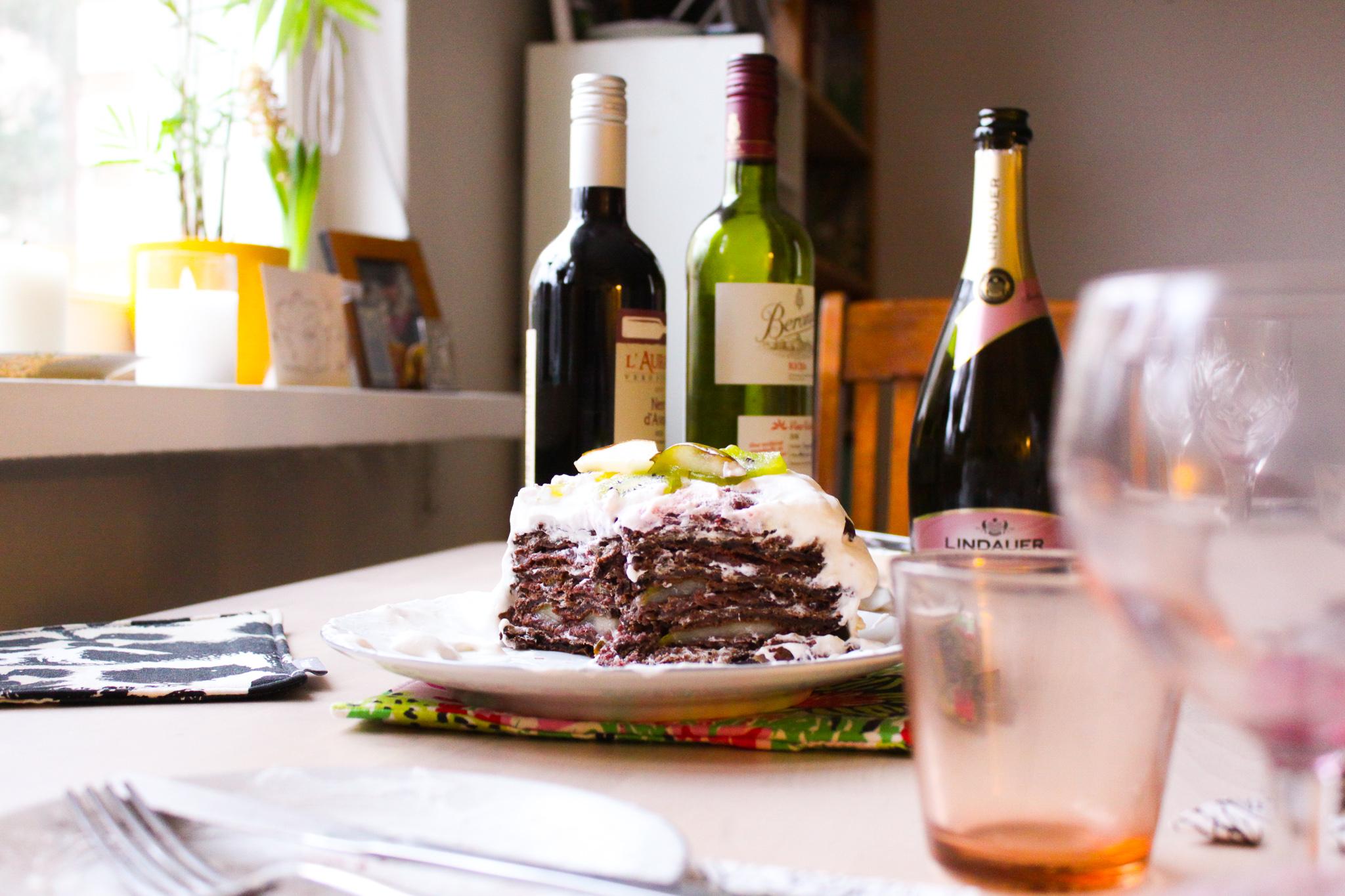 Suklaavohvelikakku ja muita ihania juttuja