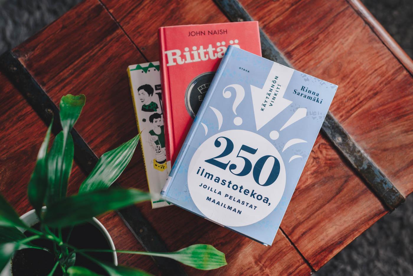 250 ilmastotekoa kirja