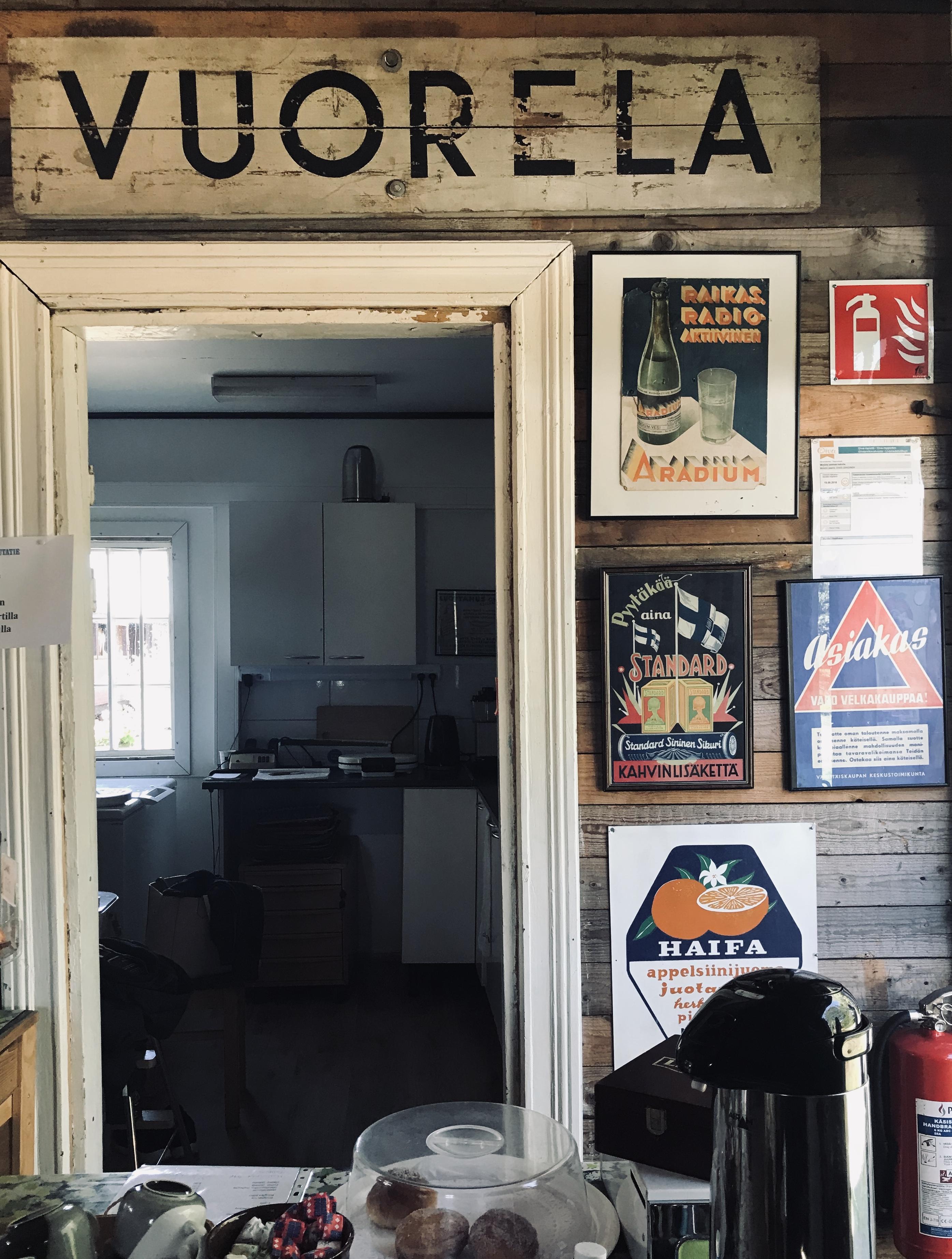 Minkiön kapearaidemuseon kahvila