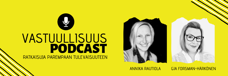 4 vastuullisuus- ja ilmastoaiheista podcastia, jotka kannattaa ottaa kuunteluun