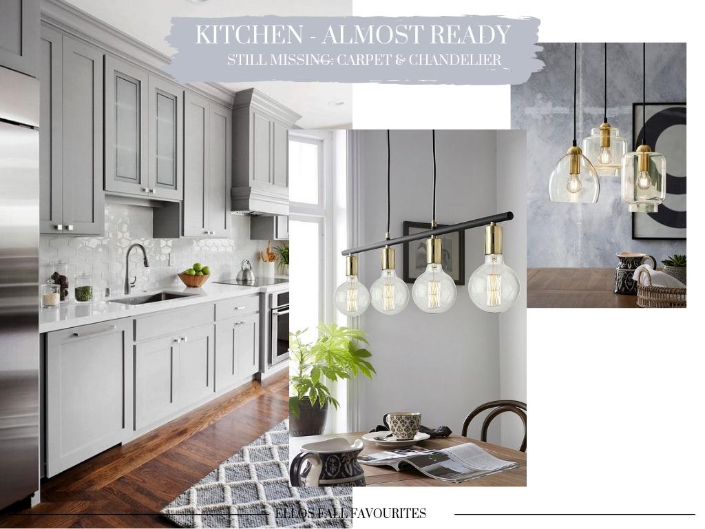 Keittiön viimeistely – Lamppuinspoja ja mattohankintoja
