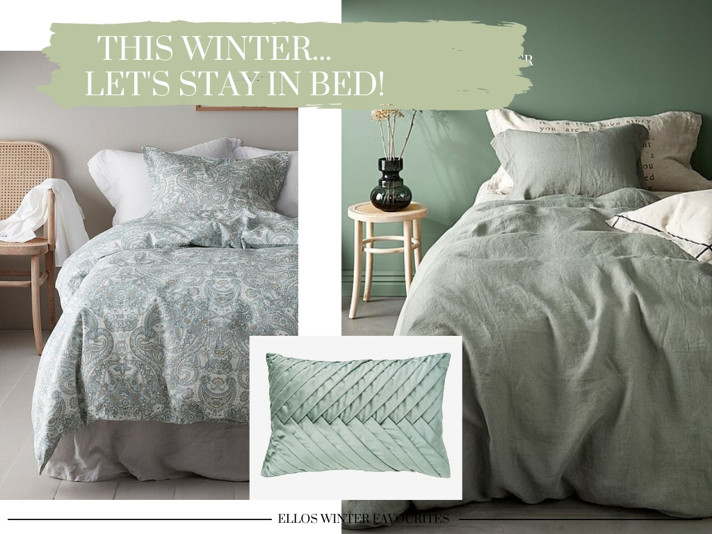 This winter… let's stay in bed!