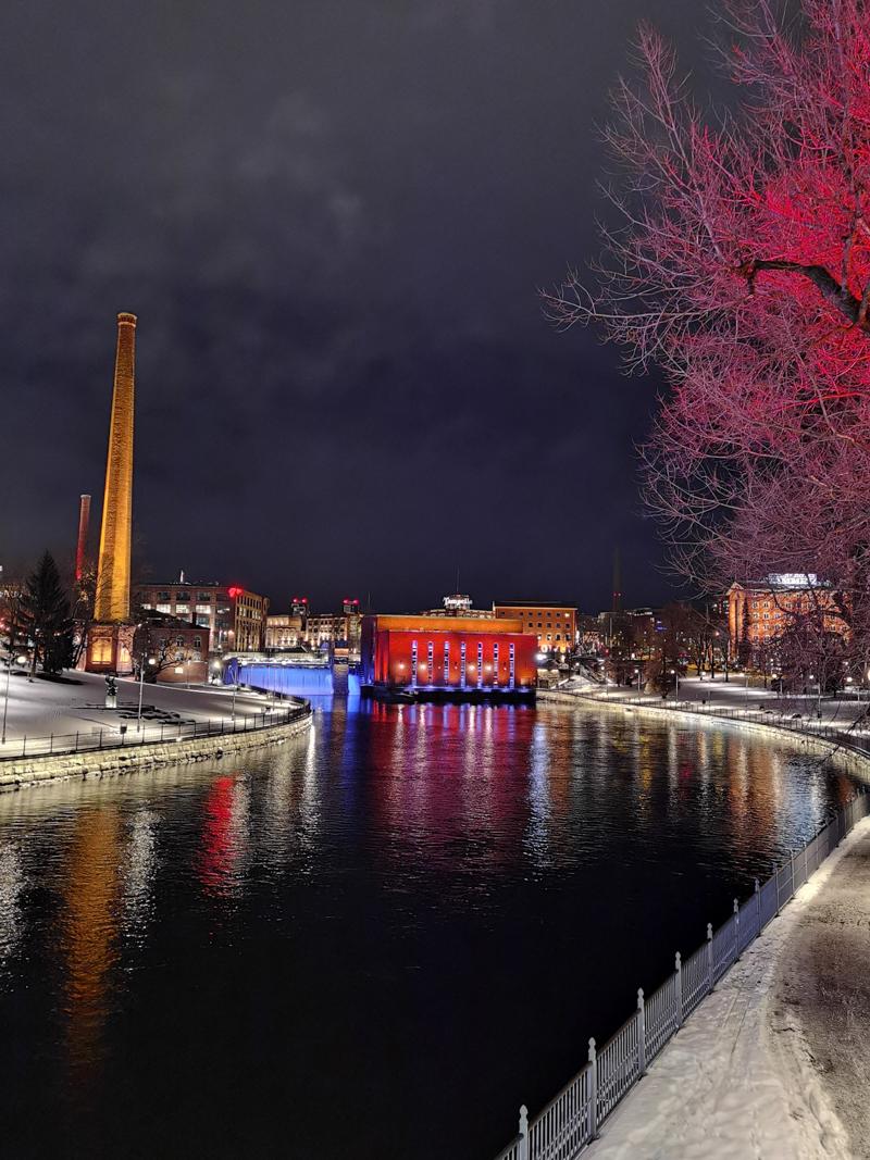 Talviloma Tampereella