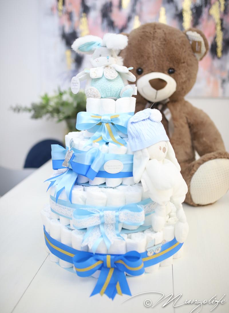 Babyshowereiden keskipiste – vaippakakku