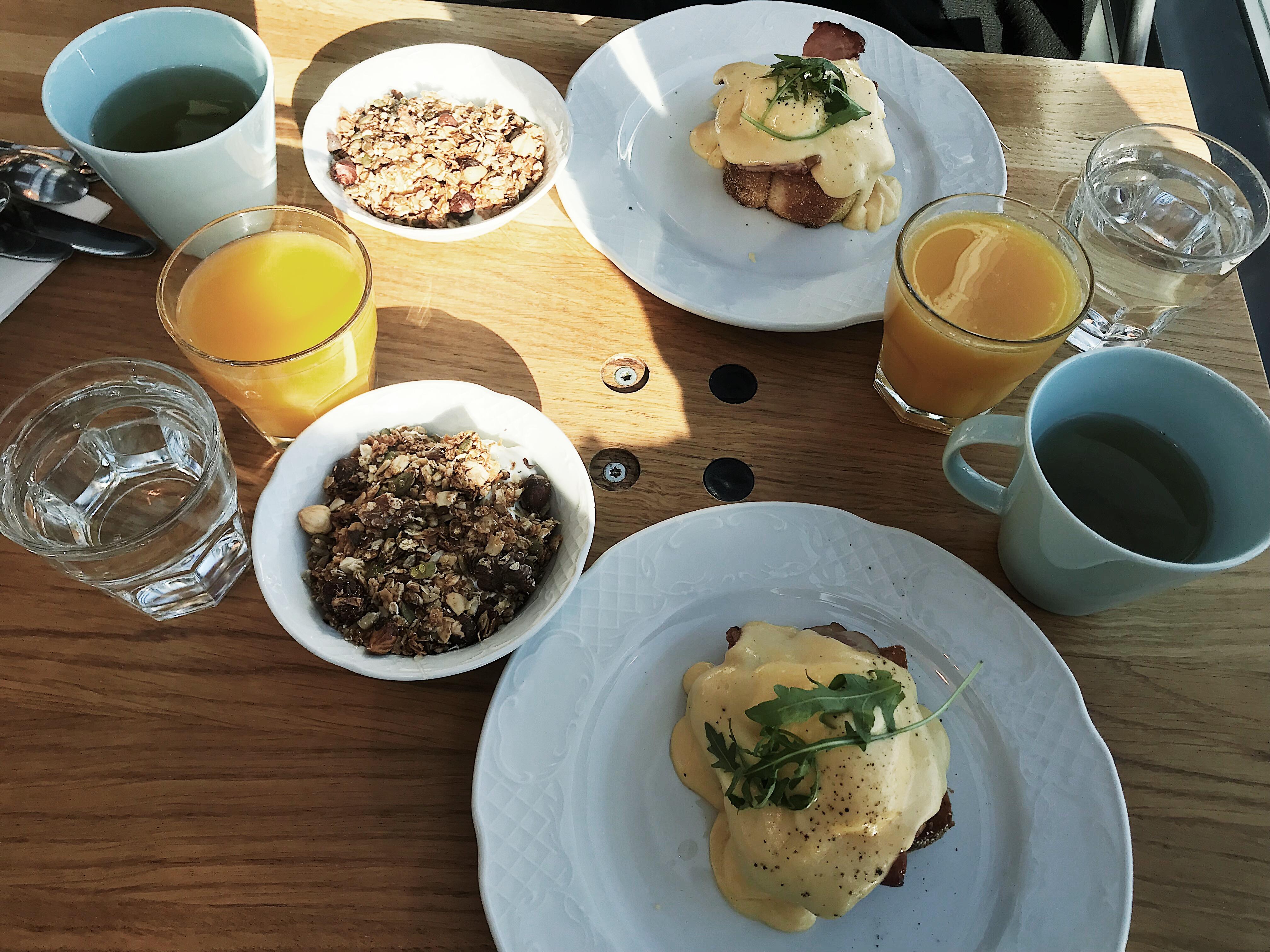 Aamiainen Story:ssa