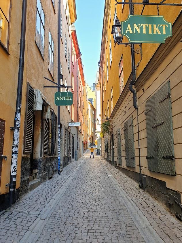 Tyhjä, tyhjempi Tukholma