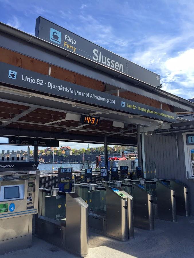 Tukholman asemat: Slussen (hamn)
