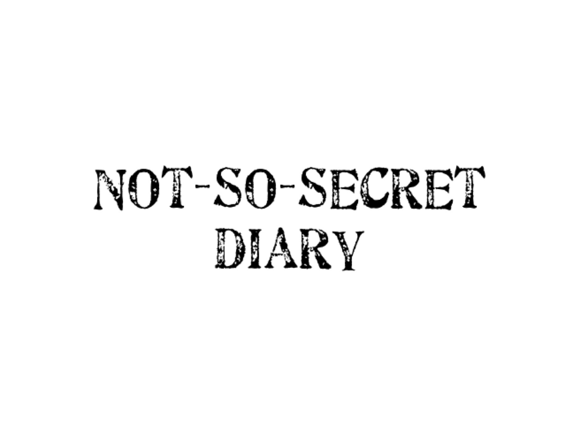 Not-So-Secret Diary