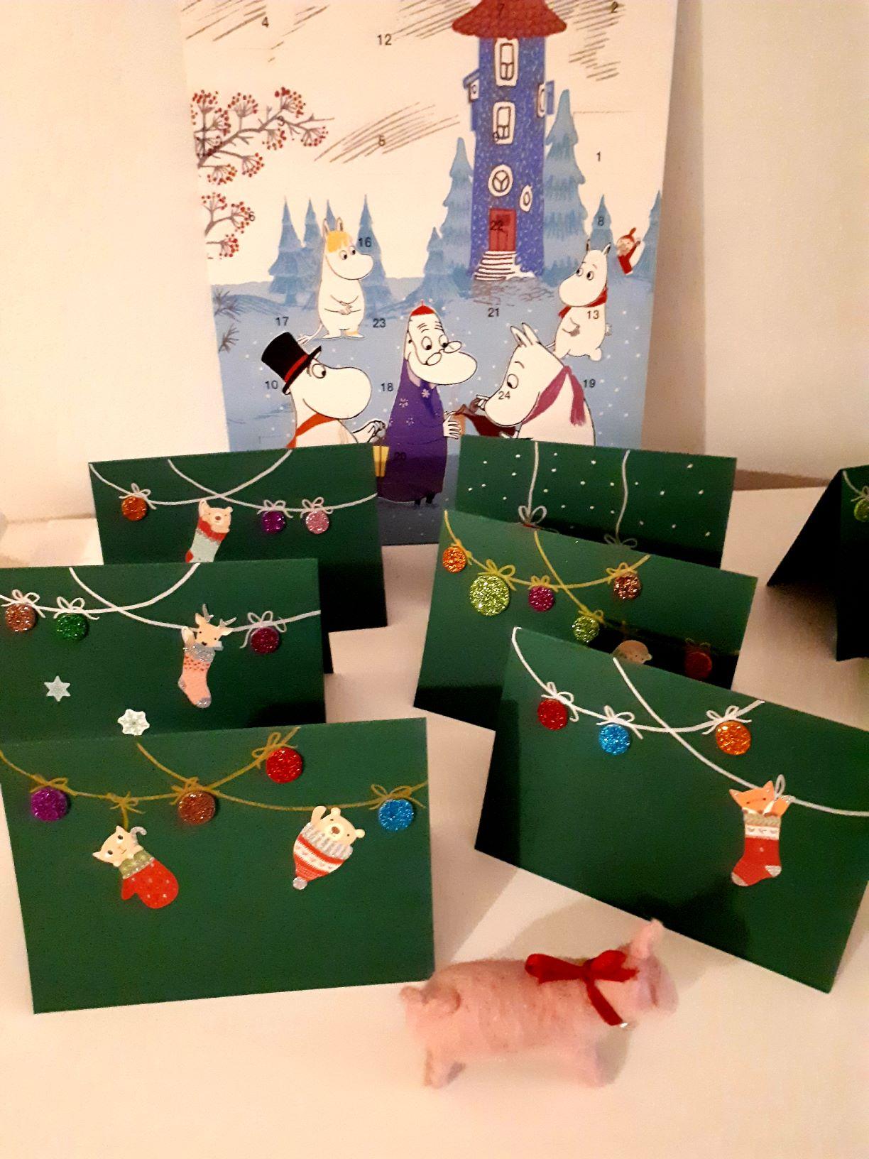 joulukorttiaskartelu