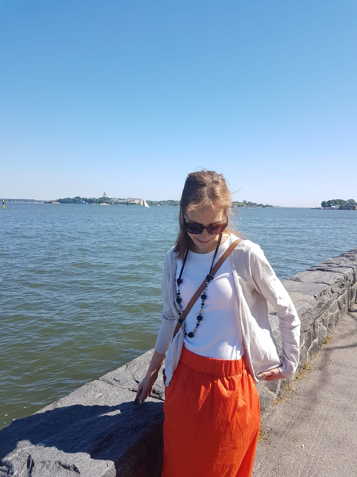 Helsingin hienoin rantakatu ja isoimmat jäätelöpallot