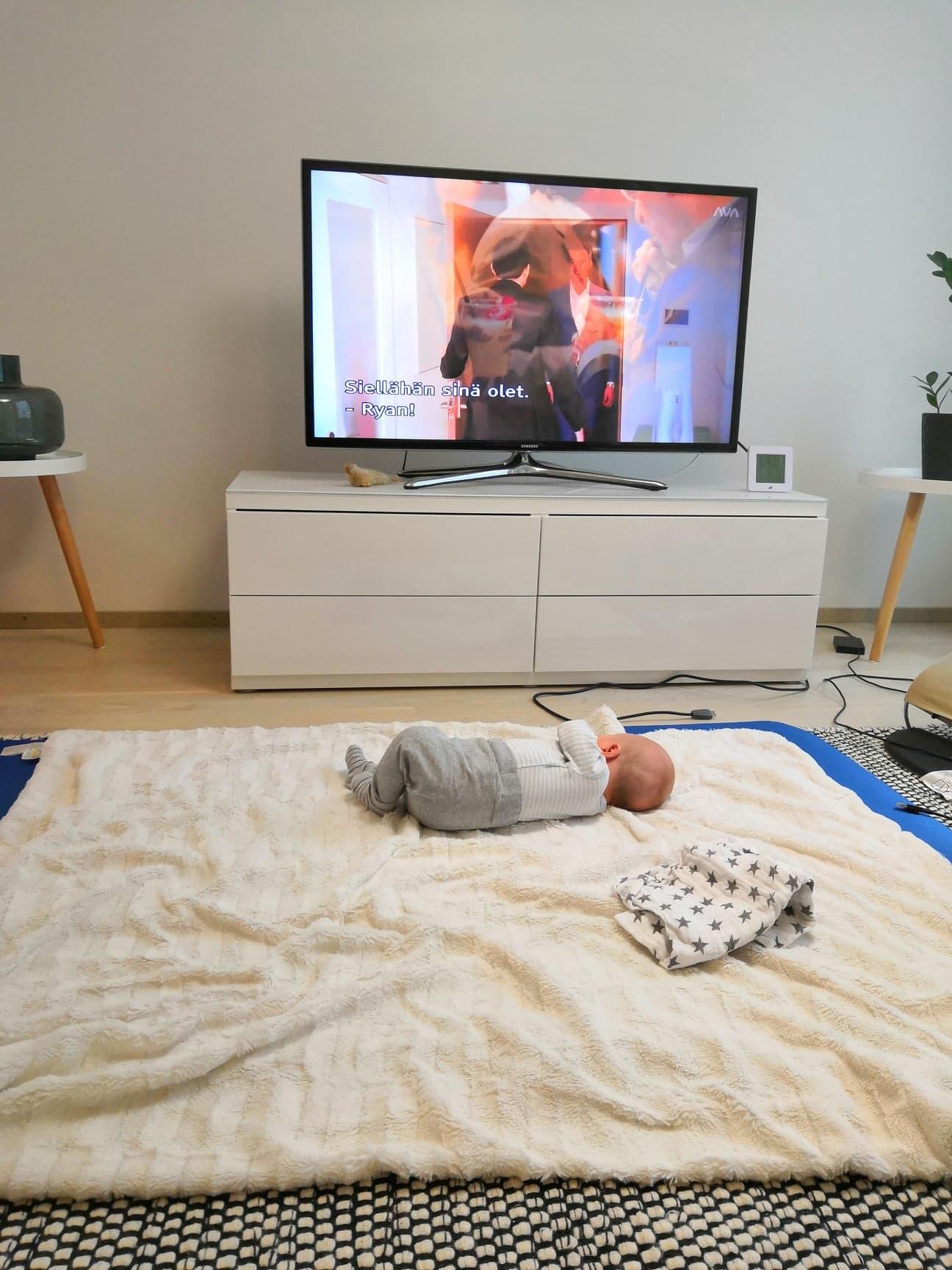 Ensimmäiset 3 kuukautta vauvan kanssa