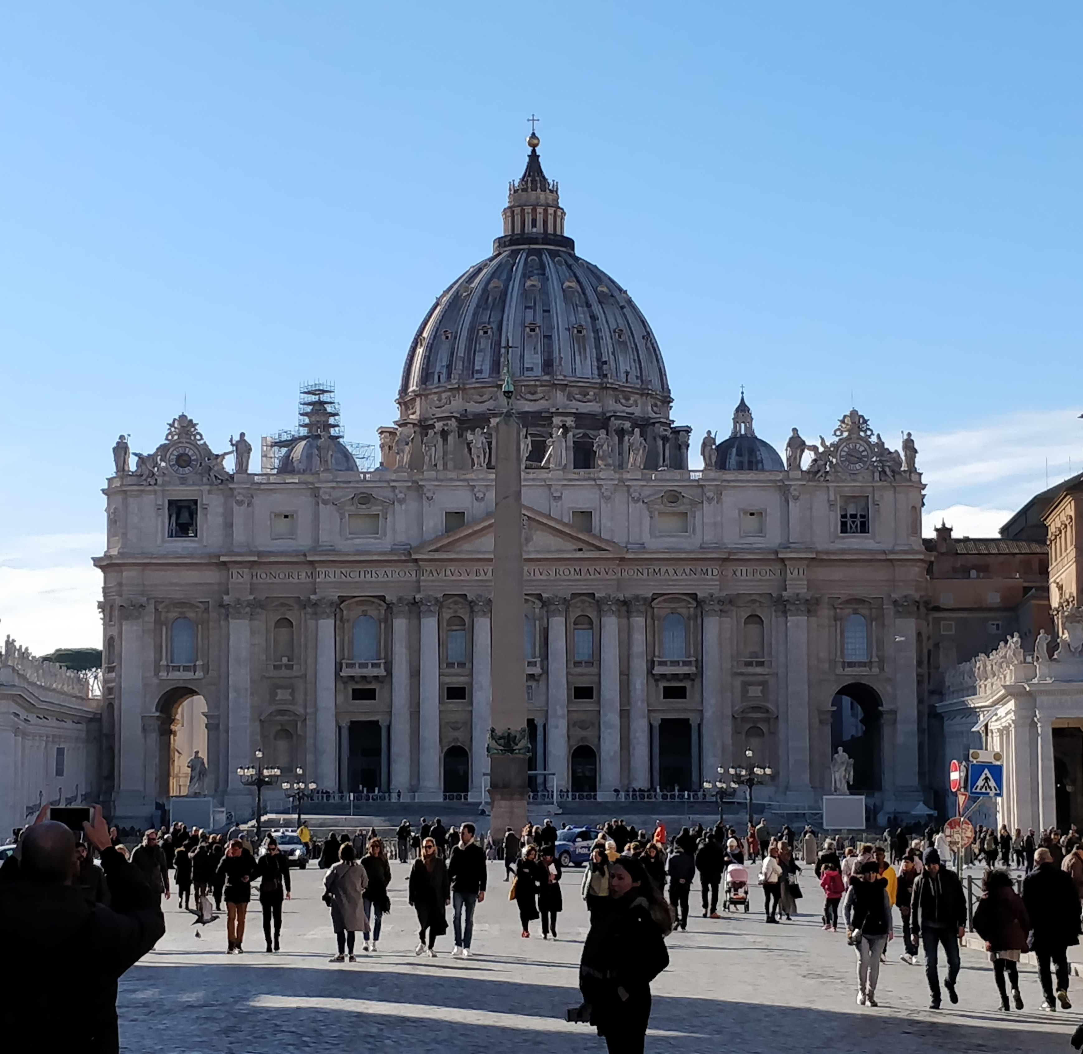 Viikko Roomassa lasten kanssa