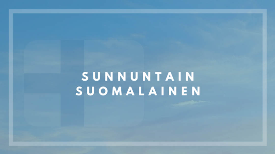 Sunnuntain suomalainen Vol.26