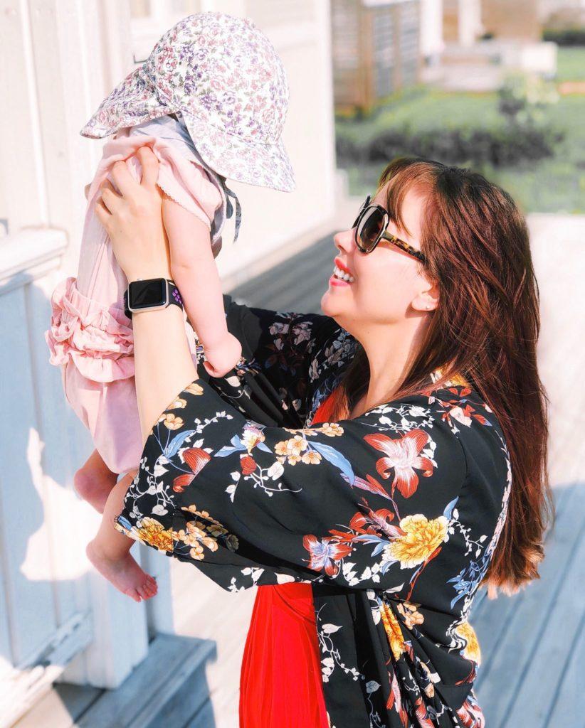 Päivä Muumaassa – vauvan kanssa landella