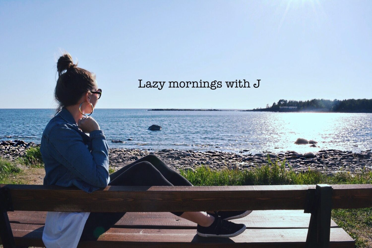 Lazy mornings with J