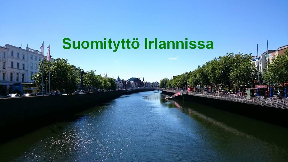 Suomityttö Irlannissa