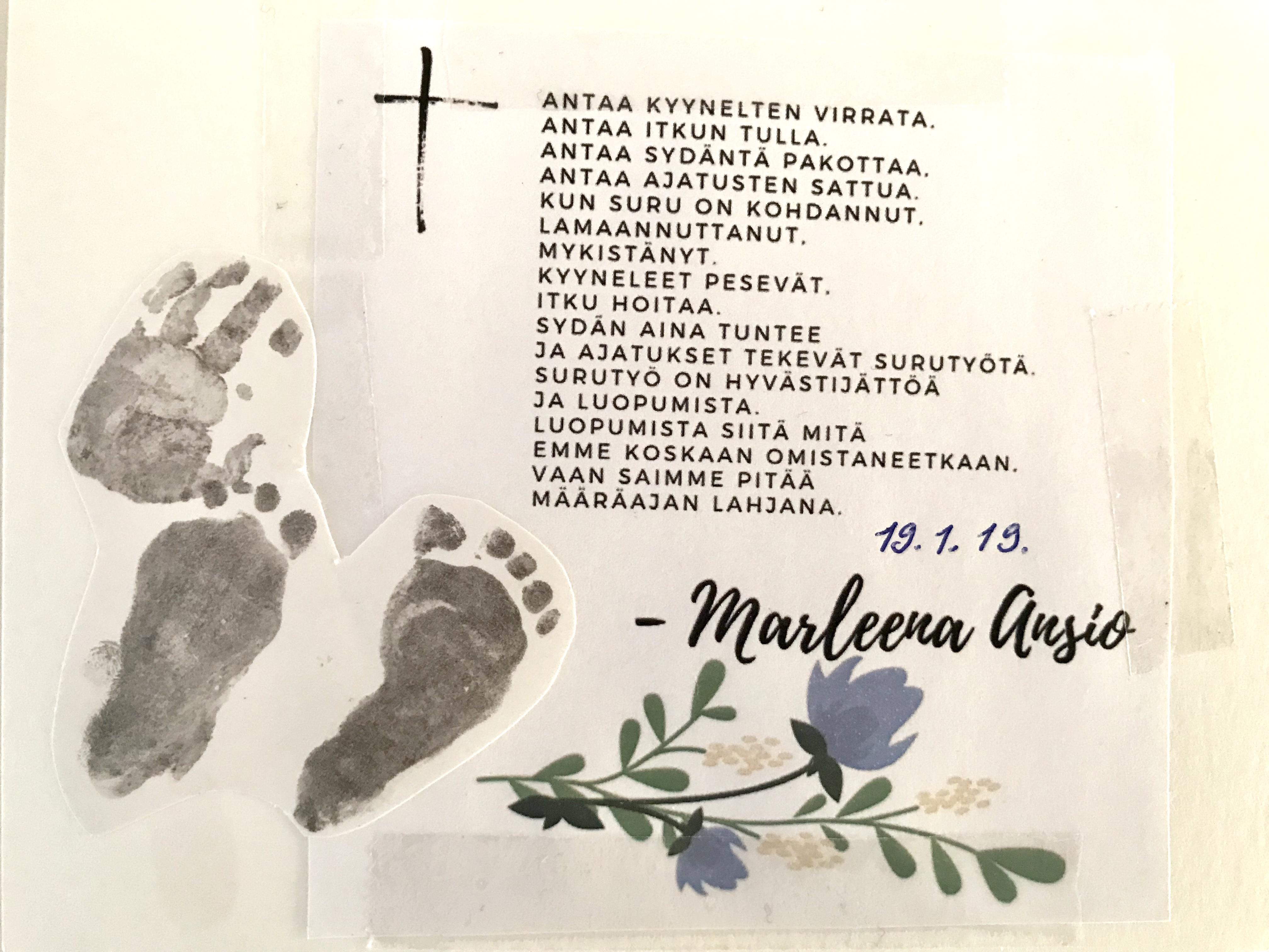 Kirje tyttärelleni