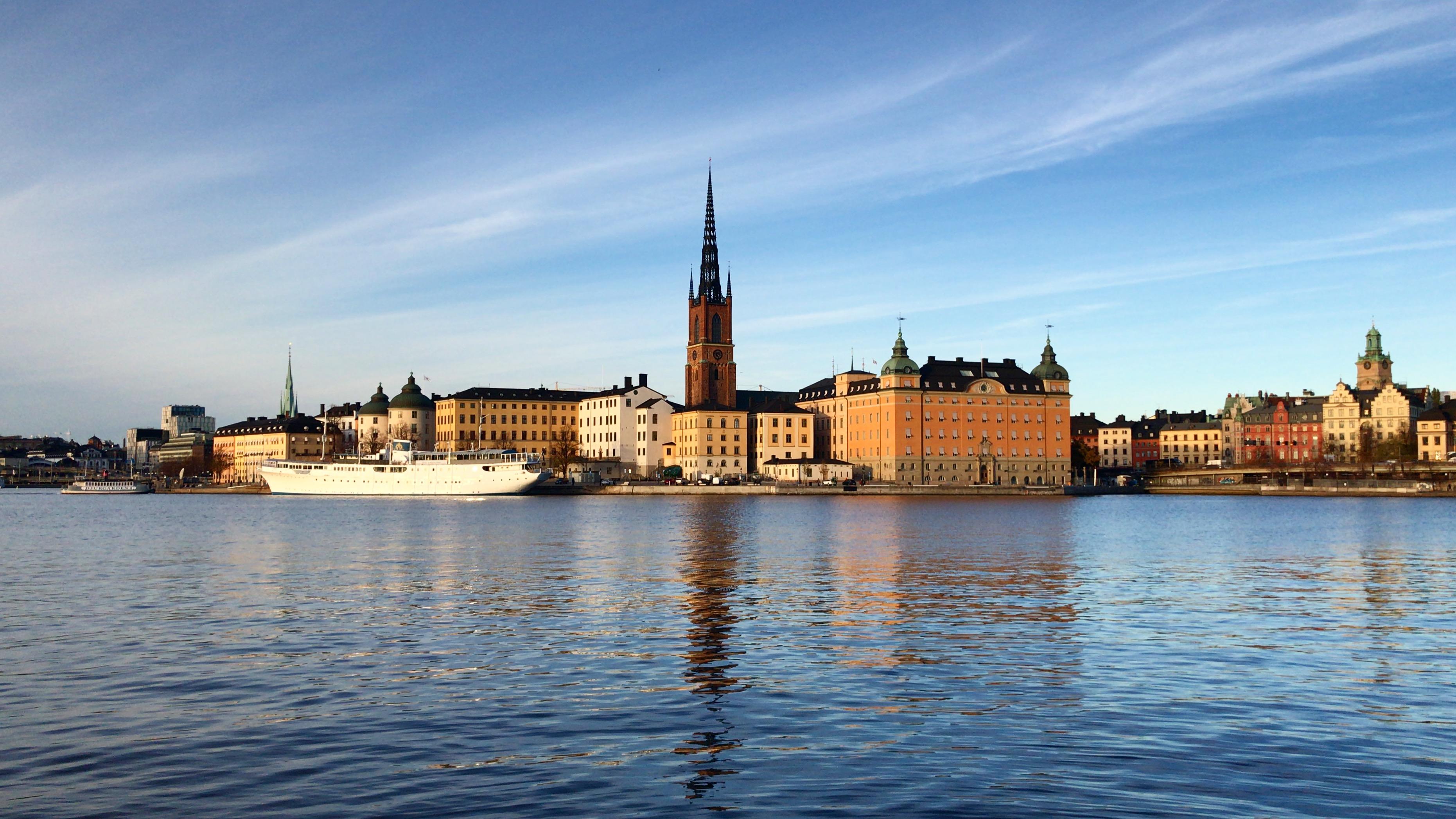 Puoli vuotta Tukholmassa