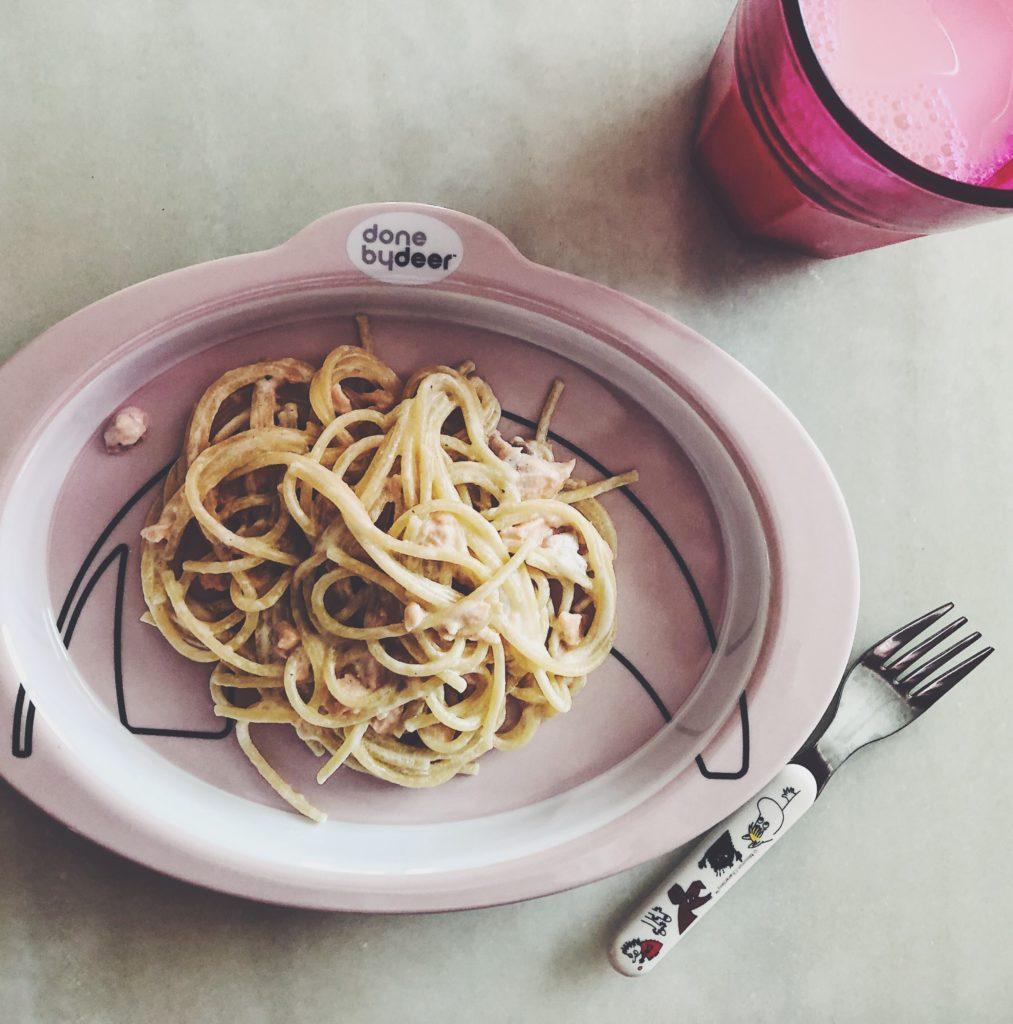 Lasten lemppari pasta