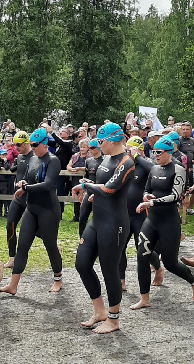 Ullan kisaraportti, Kangasala Triathlon 14.7.2019