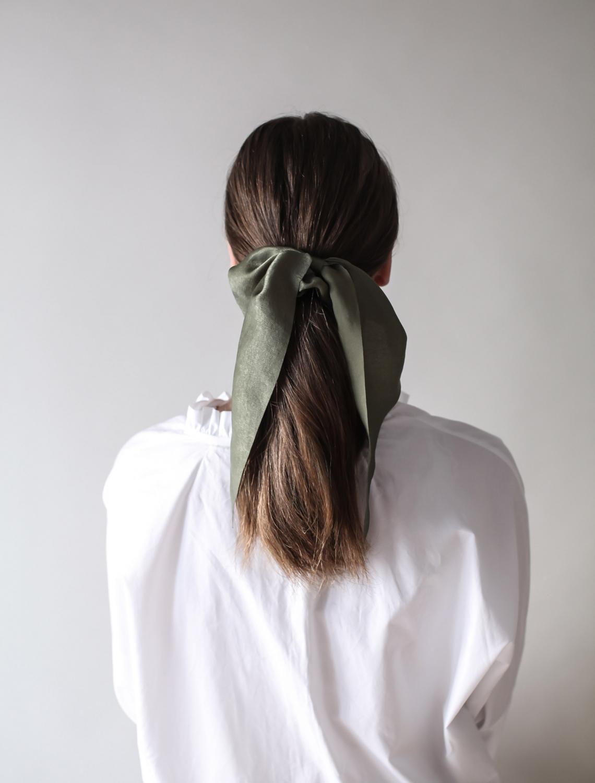 Loppuviikon hiusvinkki: supertyylikäs scrunchie!