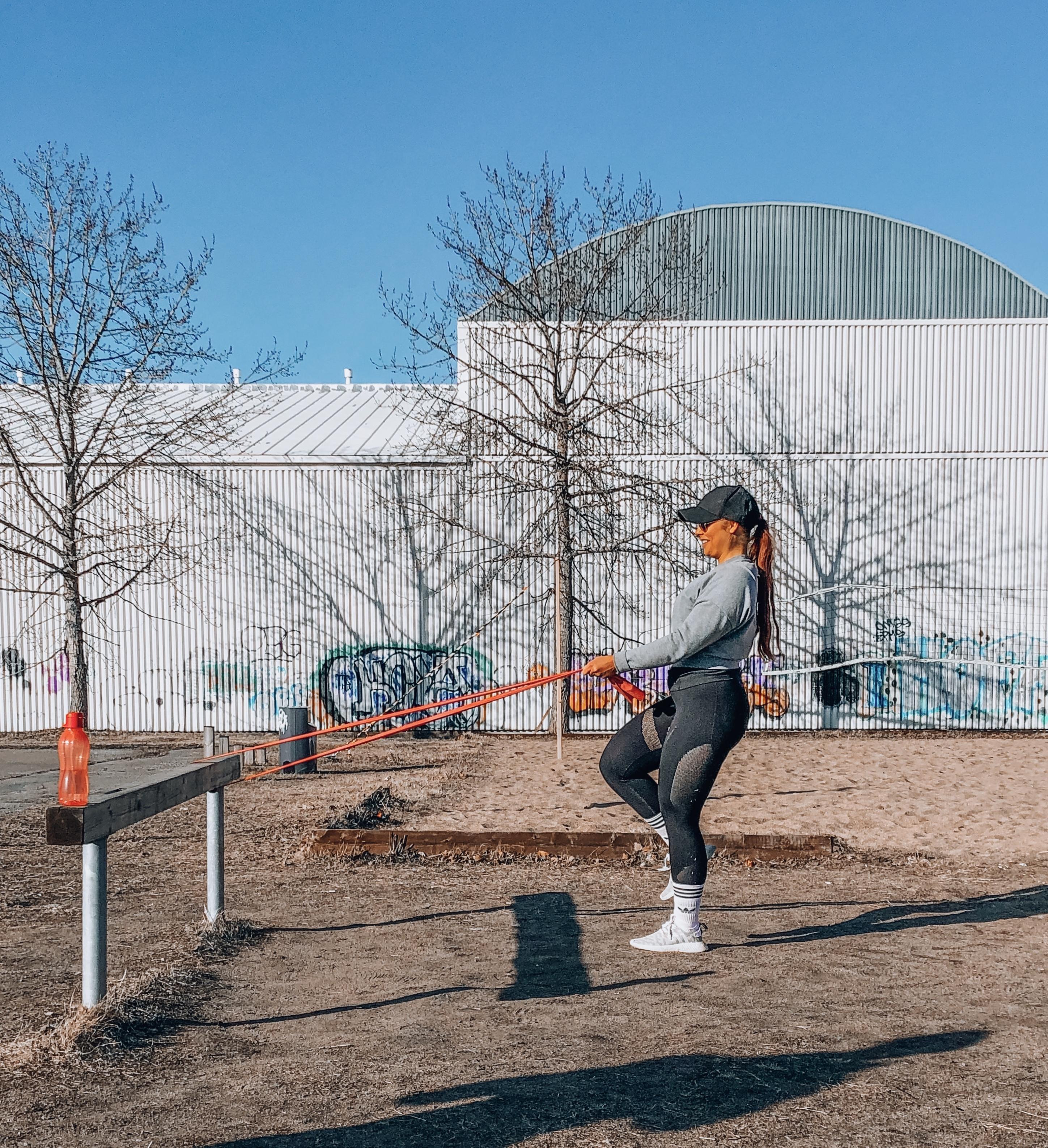 Juoksijan lihaskuntotreeni