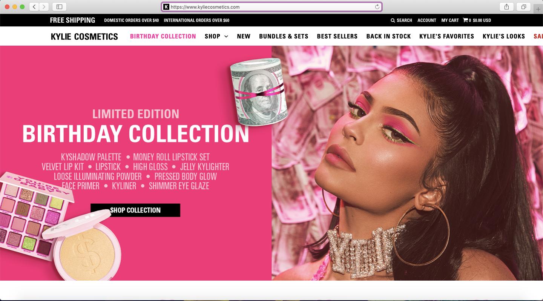 Kylie Cosmetics Suomi