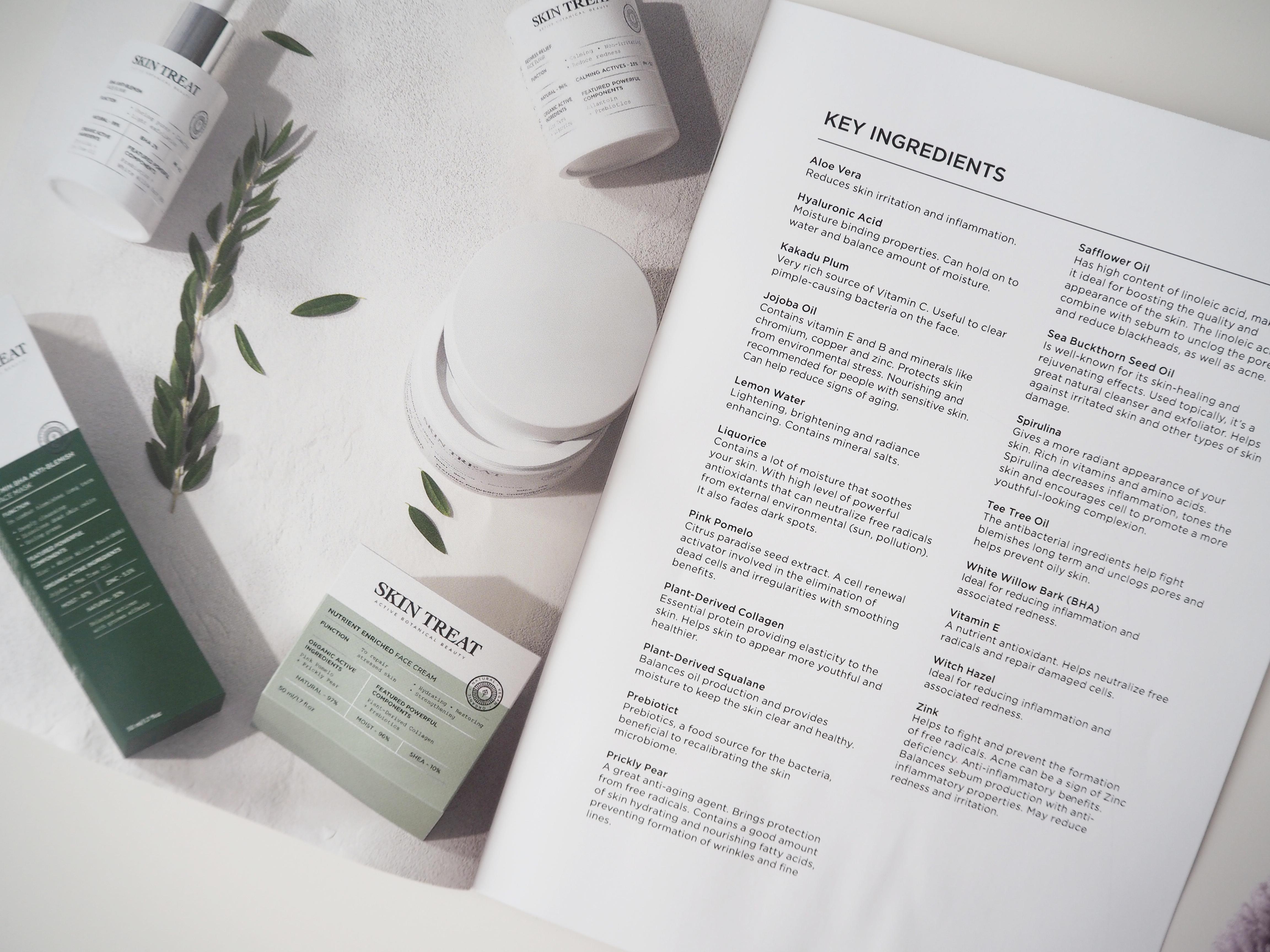 Skin Treat Face tuotteet