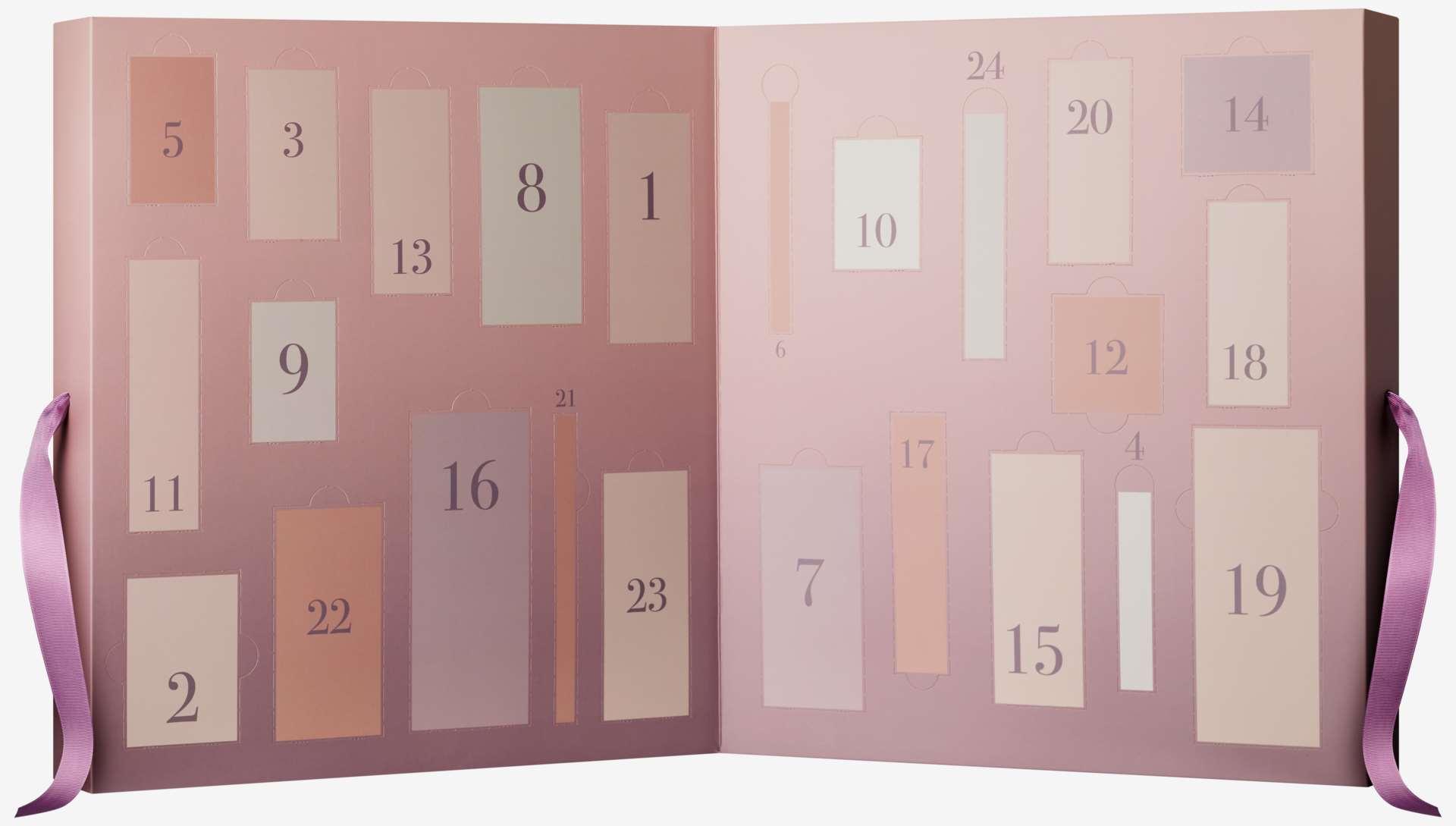 Kosmetiikkakalenteri budgie, skintreat, monsun