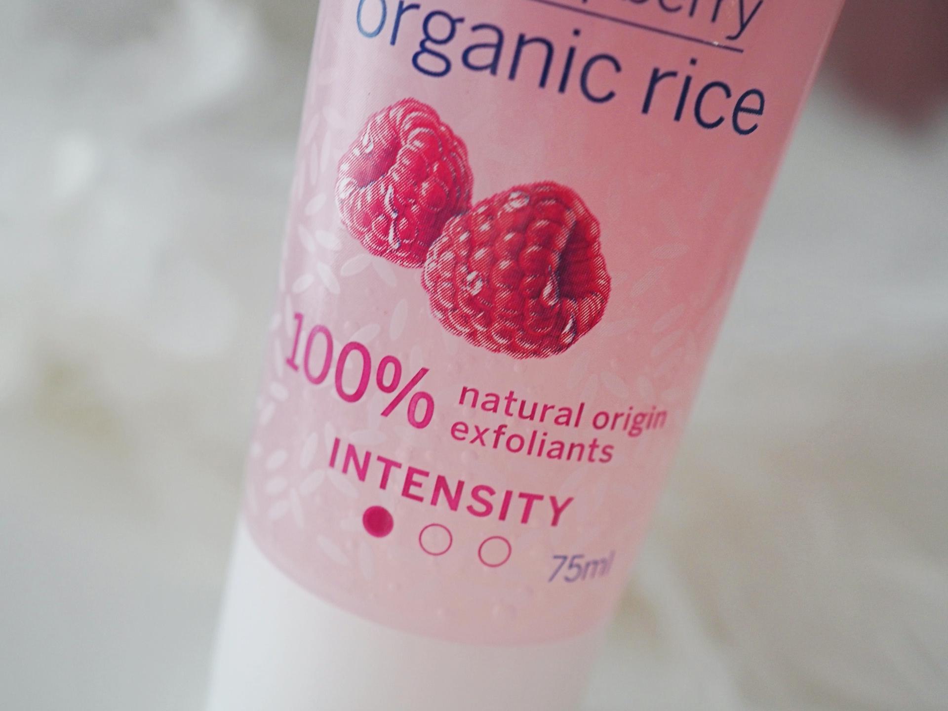 Nivea Glow Rice Scrub