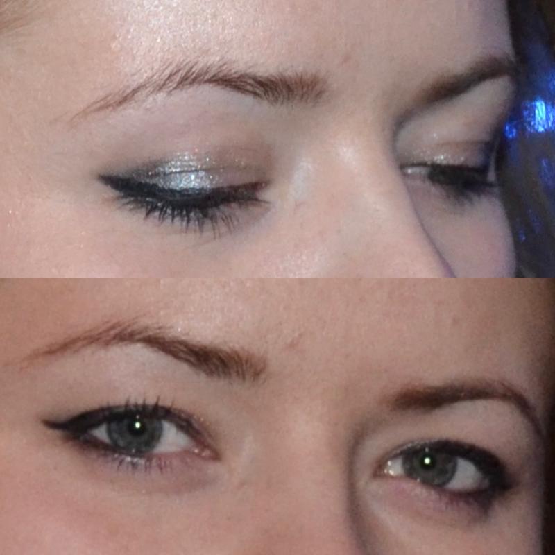 raskaat silmäluomet meikki ei näy