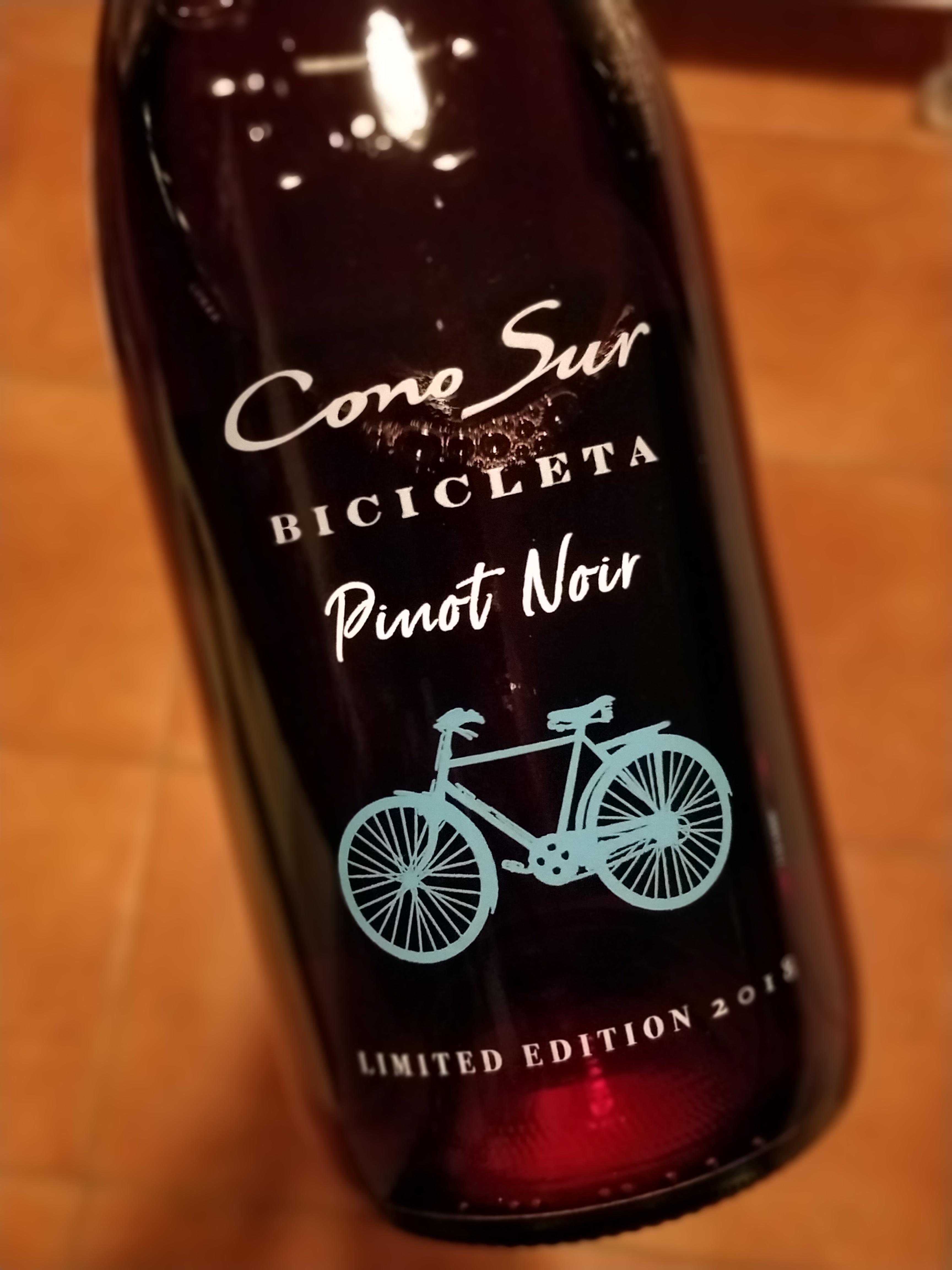 Perjantaipullo: Cono Sur Bicicleta Pinot Noir 2018