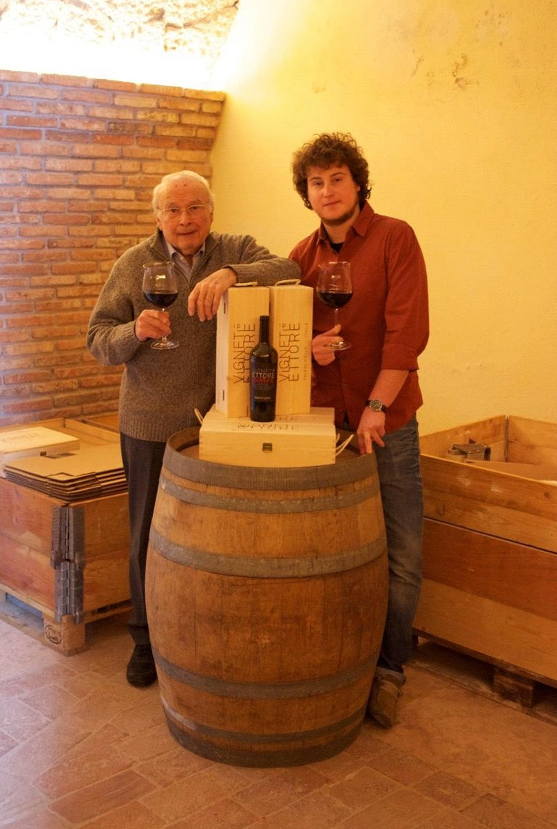 Vigneti di Ettore viinitasting kotona