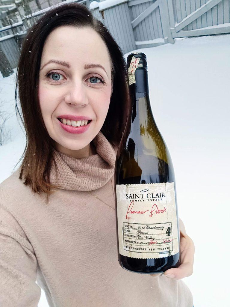 Perjantaipullo: Saint Clair Pioneer Block Sawcut Chardonnay 2018