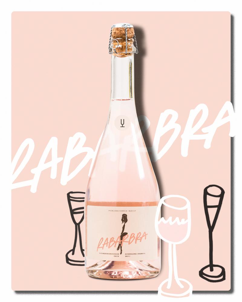 Vappupullo: Rabarbra Sparkling Rhubarb Dry