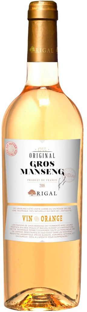 Perjantaipullo: Rigal Original Gros Manseng Vin Orange 2018