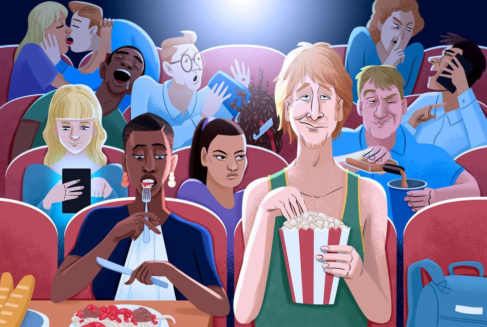 7 Ärsyttävintä tyyppiä leffateatterissa