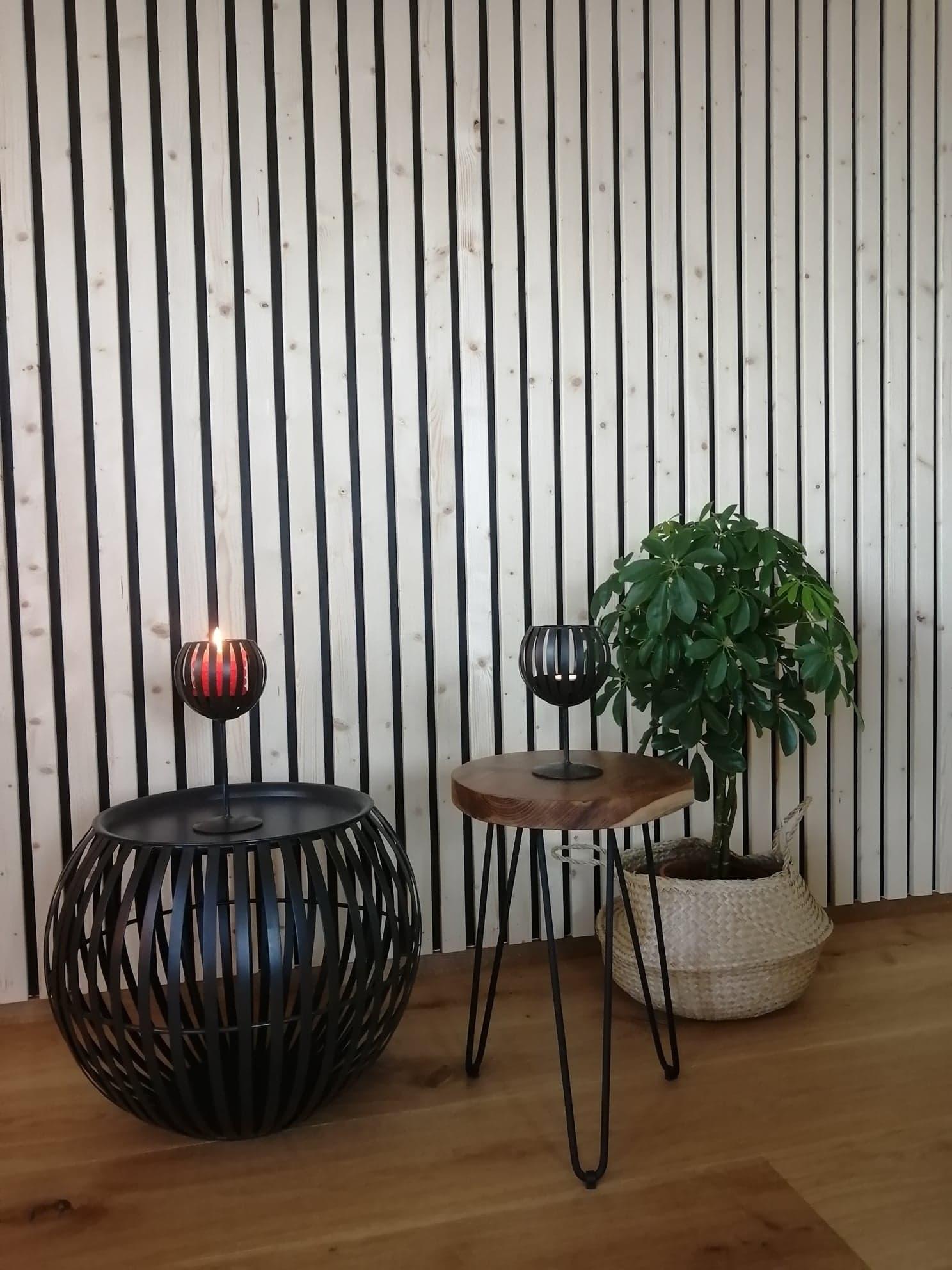 Vinkkejä kodin uuteen ilmeeseen – rimaseinä ja ihanuuksia Pentikiltä