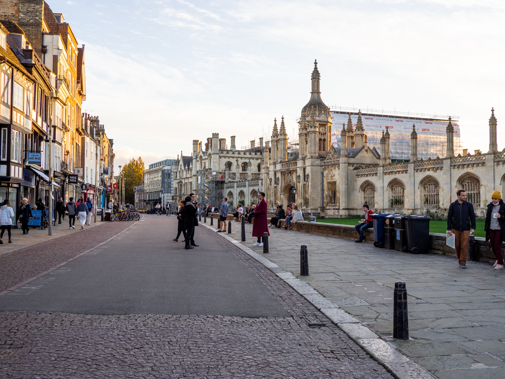 Uusi kotikaupunkini Cambridge ensisilmäyksellä