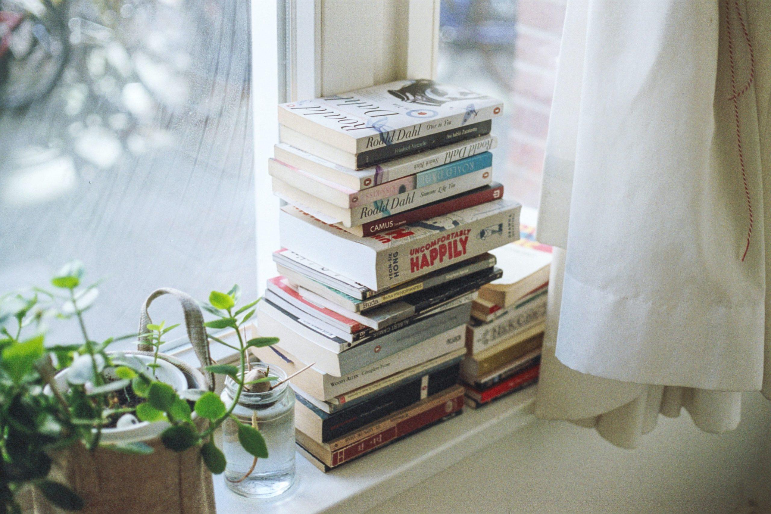Kirjat ikkunalla