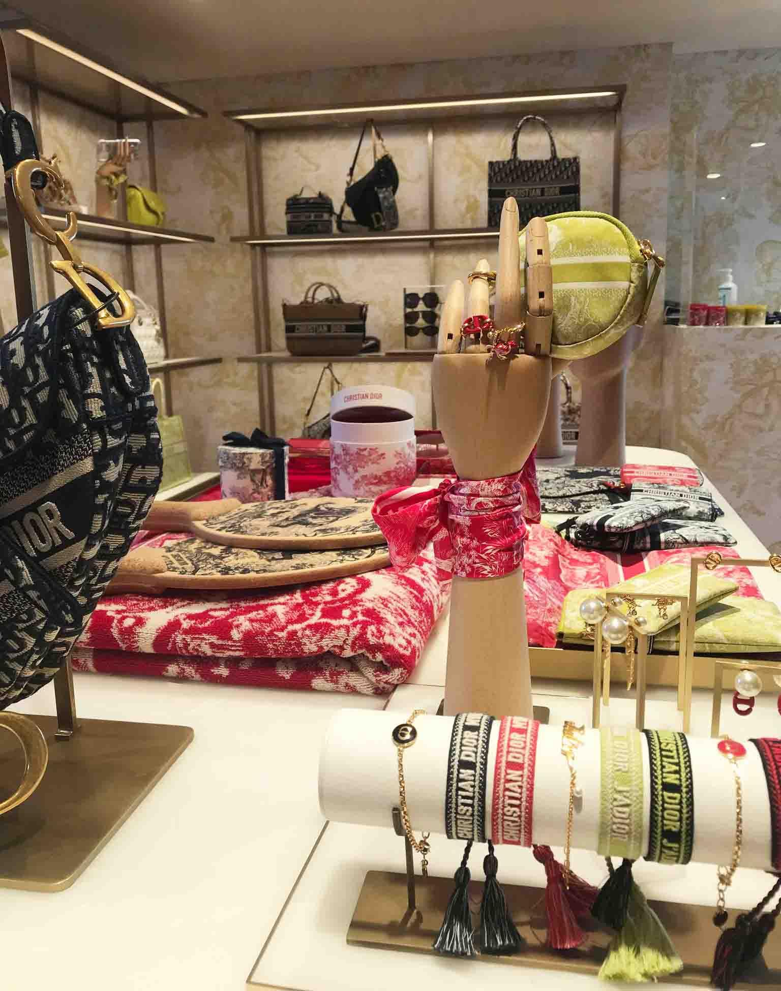 Rosana Eats Dior Cafe London popup store
