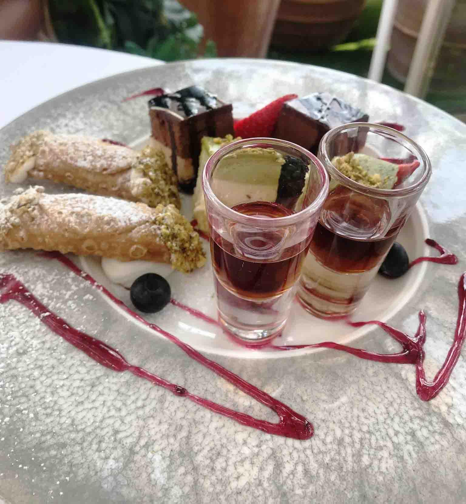 Rosana Eats Dior Cafe London dessert