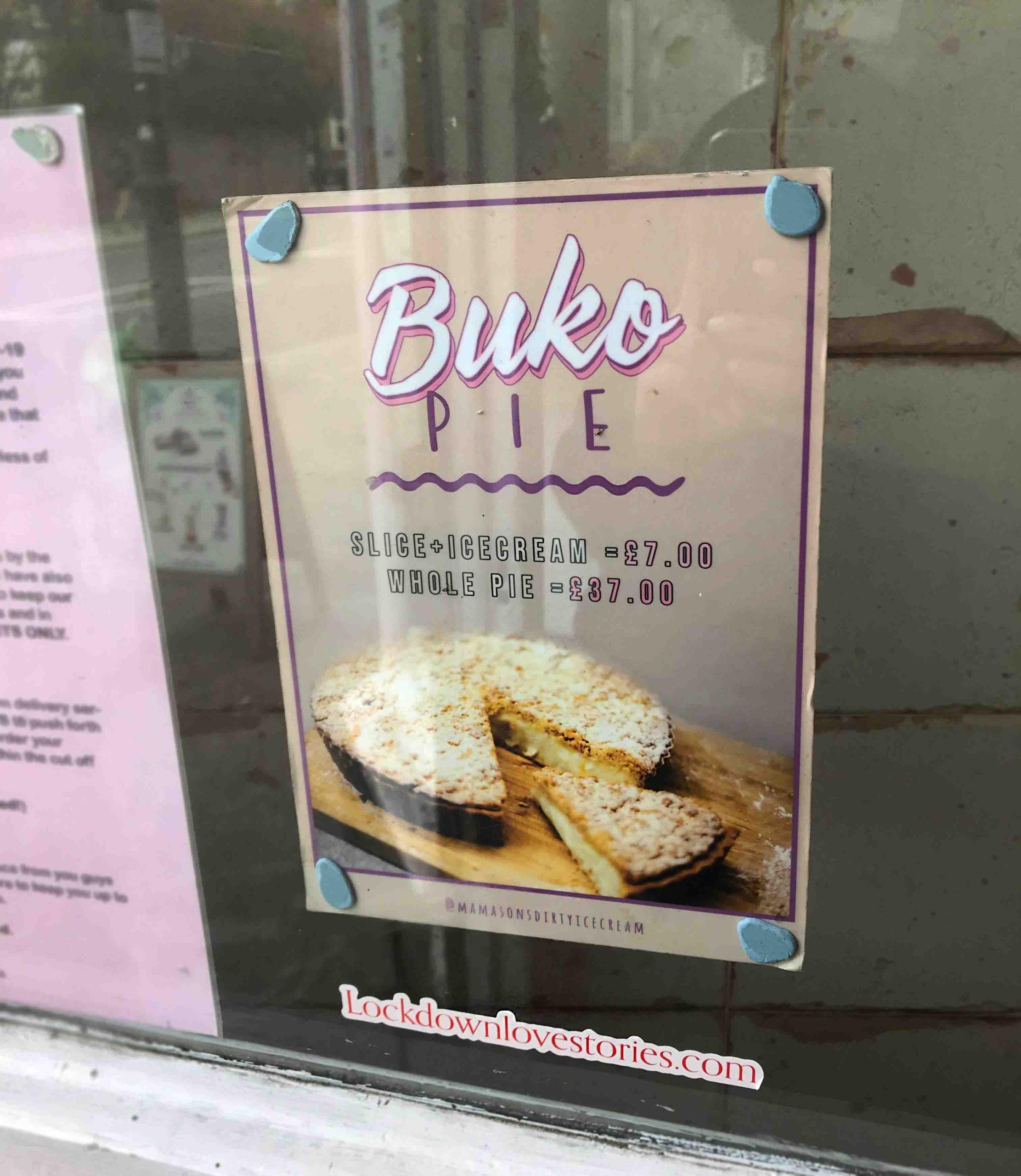 Rosana Eats Mamasons Buko Pie